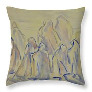 The Prayers...ii Throw Pillow
