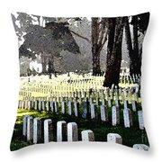 The Presidio - San Francisco Throw Pillow