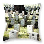 The Presidio Throw Pillow