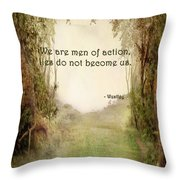 The Princess Bride - Men Of Action Throw Pillow