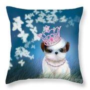 The Princess Throw Pillow