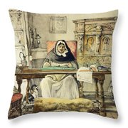 The Prior, From Sketches Of Spain Throw Pillow