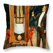 The Prisoner Of Canton Throw Pillow