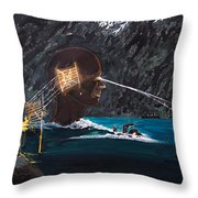 The Projection Of Thought And Mind On Reality Throw Pillow