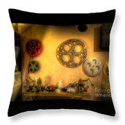 The Projection Room 4675 Throw Pillow