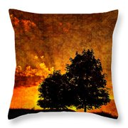 The Promise Overlay Version Throw Pillow