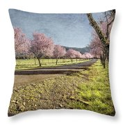The Promise That Spring Makes Throw Pillow