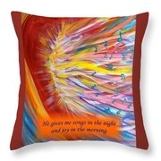 The Prophetic Song Throw Pillow