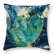 The Protected Heart Throw Pillow