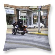 The Protection Throw Pillow