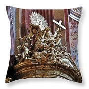 The Pulpit Throw Pillow