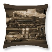 The Pumps 2 Throw Pillow