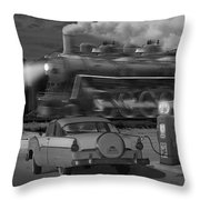The Pumps - Panoramic Throw Pillow