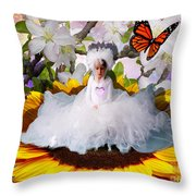 The Pure Of Heart Throw Pillow