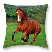 The Pure Power Throw Pillow