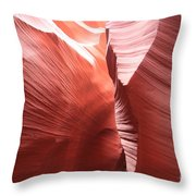 The Purple Passage Throw Pillow