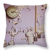 The Purple Room Throw Pillow
