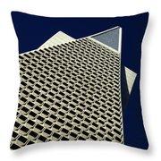 The Pyramid Throw Pillow