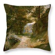 The Pyrenees Throw Pillow