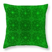 The Quantum Realm Throw Pillow by Jason Padgett