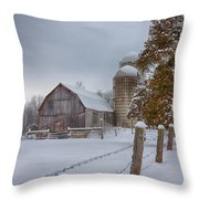 The Quiet Waiting Throw Pillow