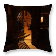 The Quire Lies Beyond Throw Pillow