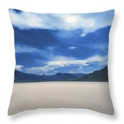The Race Track Throw Pillow