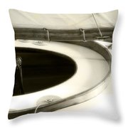 The Racing Sloop  Water Witch  Throw Pillow