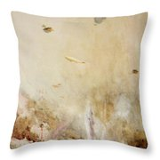 The Raid On Cuxhaven Throw Pillow