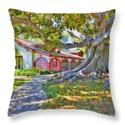 The Rancho Throw Pillow