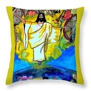 The Rapture  Throw Pillow