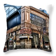 The Reading Terminal Market Throw Pillow by Bill Cannon