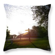 The Real Champion  Throw Pillow