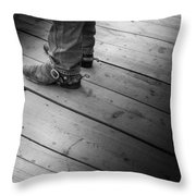 The Real Deal Throw Pillow