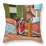 The Real Home Makers Throw Pillow