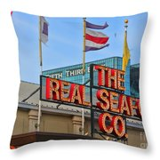 The Real Seafood Company 4201 Throw Pillow