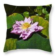 The Really Fancy Bloom Throw Pillow