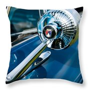 The Side View Mirror Throw Pillow