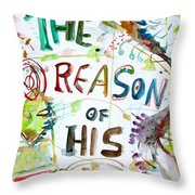 The Reason Of His Fall Throw Pillow