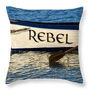 The Rebel Throw Pillow