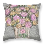 The Reckless Illustration Throw Pillow