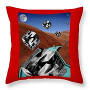 The Recolonization Throw Pillow