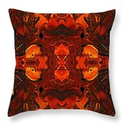 The Red Light Throw Pillow