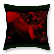 The Red Planet Cometh Throw Pillow