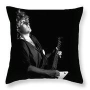 The Red Rocker In Spokane 1978 Throw Pillow