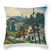 The Red Vine. Matinicus Island. Maine Throw Pillow