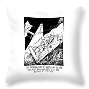 The Redecoration Of Base Camp IIi Was The Most Throw Pillow