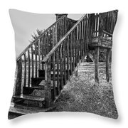 The Referee's Stand Throw Pillow