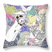 The Rest Is History. Throw Pillow