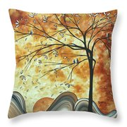 The Resting Place By Madart Throw Pillow